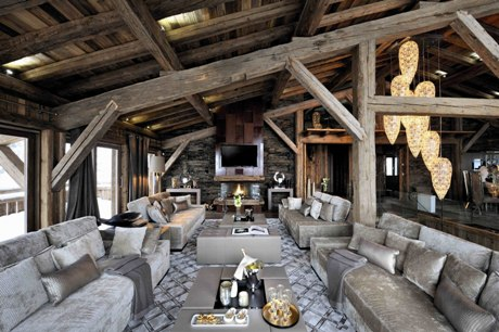 The Chalet Brickell in the Rhone-Alpes, France