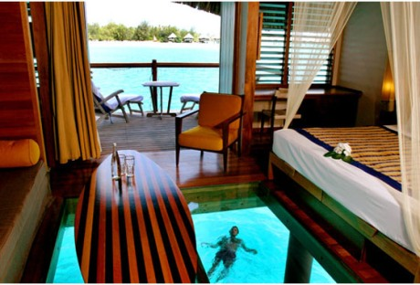 The Overwater Bungalow at Le Meridien, Bora Bora