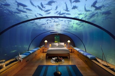 The Underwater Bedroom, Maldives